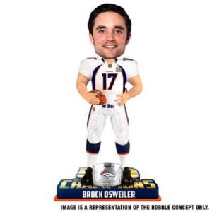 Brock Osweiler Denver Broncos Bobblehead