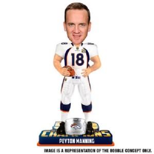 Peyton Manning Denver Broncos Bobblehead