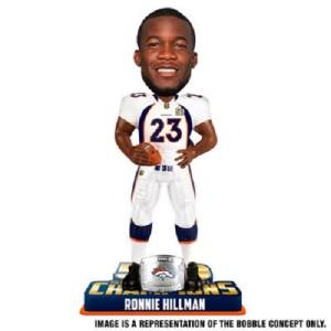 Ronnie Hillman Denver Broncos Bobblehead