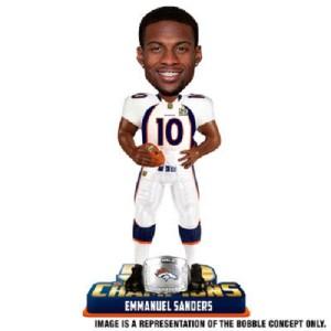 Emmanuel Sanders Denver Broncos Bobblehead