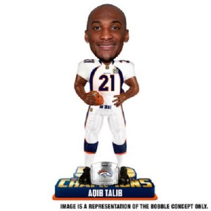 Aqib Talib Denver Broncos Bobblehead