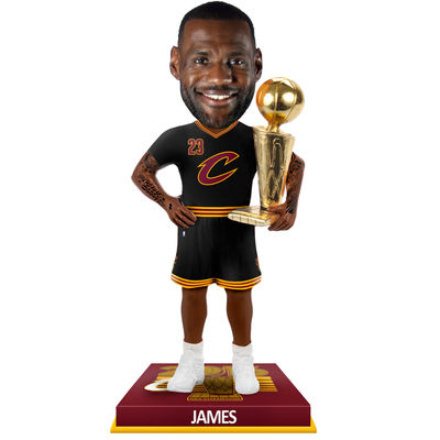 LeBron James 2016 NBA Champions Cleveland Cavaliers Bobblehead